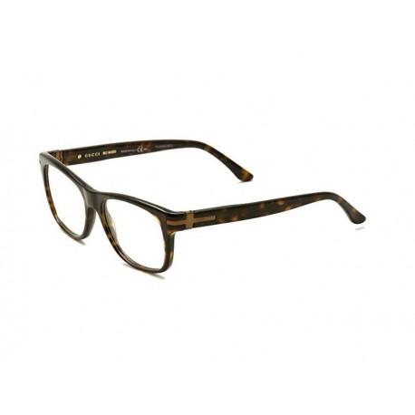 miglior servizio 7b6ab 18a6a Gucci 1052 eyeglasses men brown - Stilottica Italiana Import-Export S.r.l.