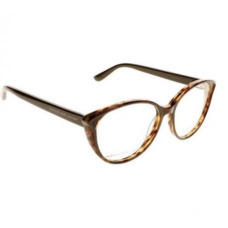 Marc Jacobs 585 occhiali da vista montature donna a gatto marroni