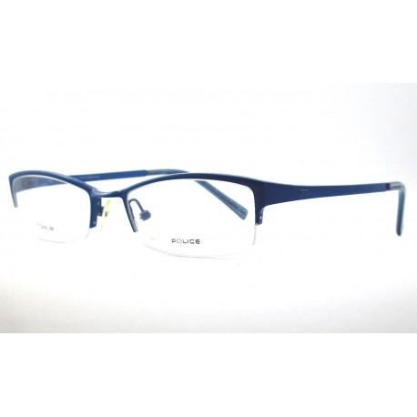 Police V8021 glasses woman col SLYX blue - Stilottica Italiana  Import-Export S r l