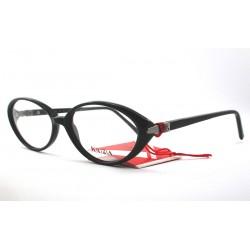 Krizia KZ 015 montature occhiali da vista donna a gatto col. neri