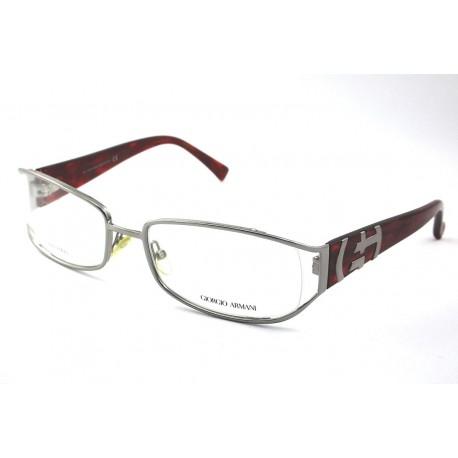 scarpe sportive 06190 98ad1 Giorgio Armani GA 480 montature occhiali da vista uomo col.EOB argento  rosso - Stilottica Italiana Import-Export S.r.l.