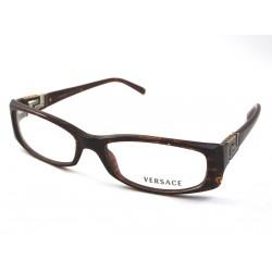 Versace 3076 B 585 montature occhiali da vista donna col. marrone