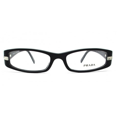 cf8eb8518db0 ... glasses color black. Prada VPR 07H occhiali da vista donna colore nero