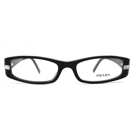 Prada VPR 07H occhiali da vista donna colore nero