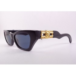 Gianni Versace 477 B sunglasses color black with medusa