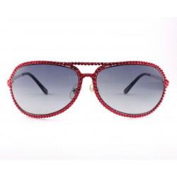 Occhiali da sole Jimmy Crystal 946 donna con strass colore rossi
