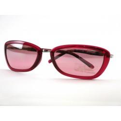 Occhiale da sole Silohuette in metallo e plastica STSL3/SPX - Argento e Vino
