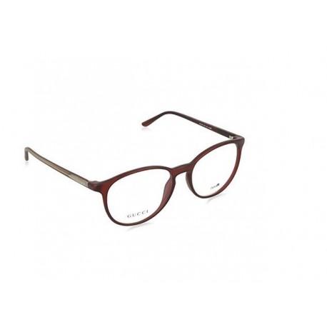 Gucci 1040 occhiali da vista montature donna rossi pantos