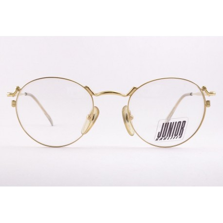 Junior Gaultier 57 2171 vintage glasses pantos color gold