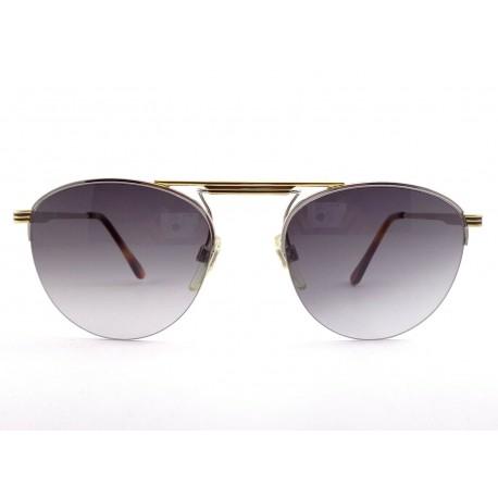 Occhiali da sole vintage Le Club Vince NY colore oro Made in Italy