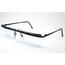 Filou 8821 vintage glasses color. black / multicolor