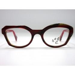 Dada-e eyeglasses frame mod. SILVIA col. 03 red woman