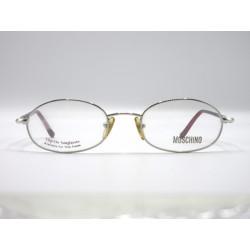Moschino M3140 Montatura occhiali da vista donna colore argento e rosso