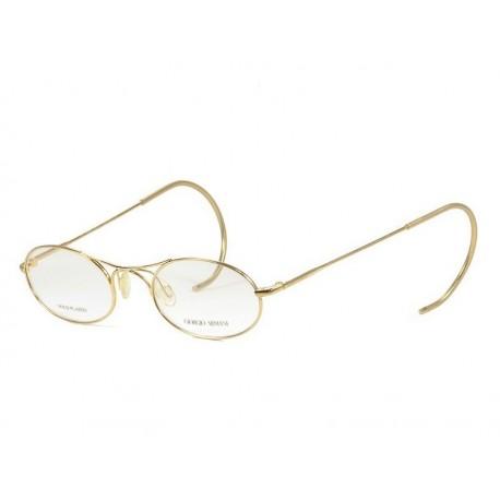 Giorgio Armani 634/N occhiali da vista 20th Anniversario Edizione ultra rara placcato in oro